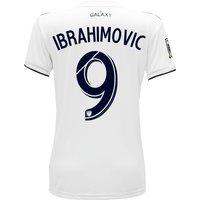 LA Galaxy Home Shirt 2018 - Womens with Ibrahimovic  9 printing