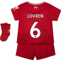 Liverpool Home Baby Kit 2018-19 with Lovren 6 printing