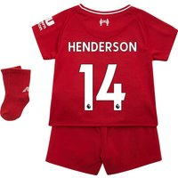 Liverpool Home Baby Kit 2018-19 with Henderson 14 printing