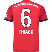 Bayern Munich Home Shirt 2018-19 with Thiago 6 printing