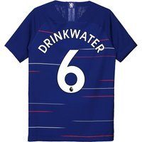 Chelsea Home Vapor Match Shirt 2018-19 - Kids with Drinkwater 6 printing