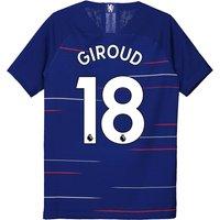 Chelsea Home Vapor Match Shirt 2018-19 - Kids with Giroud 18 printing