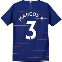Chelsea Home Stadium Shirt 2018-19 - Kids with Marcos A. 3 printing