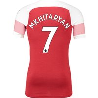 Arsenal Authentic evoKNIT Home Shirt 2018-19 with Mkhitaryan 7 printing