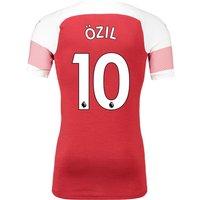 Arsenal Authentic Evoknit Home Shirt 2018-19 With Özil 10 Printing