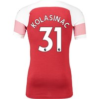Arsenal Authentic Evoknit Home Shirt 2018-19 With Kolasinac 31 Printing