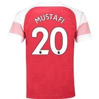 Arsenal Home Shirt 2018-19 with Mustafi 20 printing