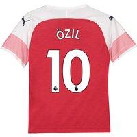Arsenal Home Shirt 2018-19 - Kids with Özil 10 printing