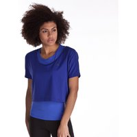 Adidas Climacool Training Box Tee - Ink Blue - Womens