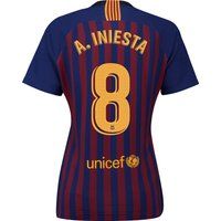 Barcelona Home Stadium Shirt 2018-19 - Womens with A. Iniesta  8 printing