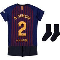 Barcelona Home Stadium Kit 2018-19 - Infants with N. Semedo 2 printing