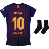 Barcelona Home Stadium Kit 2018-19 - Infants with Messi 10 printing