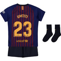 Barcelona Home Stadium Kit 2018-19 - Infants with Umtiti 23 printing