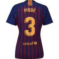 Barcelona Home Vapor Match Shirt 2018-19 - Womens with Piqué 3 printing