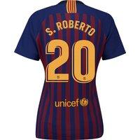 Barcelona Home Vapor Match Shirt 2018-19 - Womens with S.Roberto 20 printing