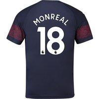 Arsenal Away Shirt 2018-19 - Outsize with Monreal 18 printing