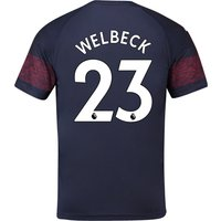 Arsenal Away Shirt 2018-19 - Outsize with Welbeck 23 printing