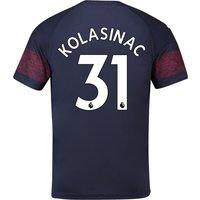Arsenal Away Shirt 2018-19 - Outsize with Kolasinac 31 printing