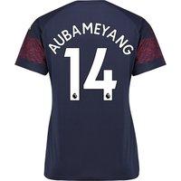 Arsenal Away Shirt 2018-19 - Womens with Aubameyang 14 printing