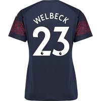 Arsenal Away Shirt 2018-19 - Womens with Welbeck 23 printing