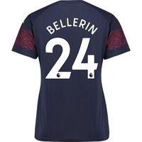 Arsenal Away Shirt 2018-19 - Womens with Bellerin 24 printing