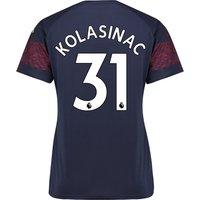Arsenal Away Shirt 2018-19 - Womens with Kolasinac 31 printing