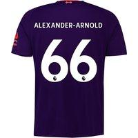 Liverpool Away Shirt 2018-19 with Alexander-Arnold 66 printing