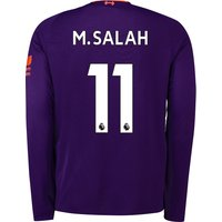 Liverpool Away Shirt 2018-19 - Long Sleeve with M.Salah 11 printing