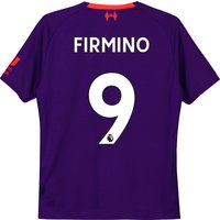 Liverpool Away Shirt 2018-19 - Kids with Firmino 9 printing