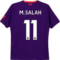 Liverpool Away Shirt 2018-19 - Kids with M.Salah 11 printing