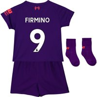 Liverpool Away Baby Kit 2018-19 with Firmino 9 printing