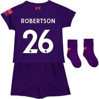 Liverpool Away Baby Kit 2018-19 with Robertson 26 printing