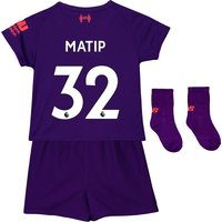 Liverpool Away Baby Kit 2018-19 with Matip 32 printing