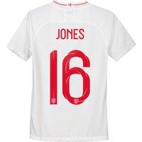 England Home Stadium Shirt 2018 - Kids with Jones 16 printing