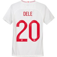 England Home Stadium Shirt 2018 - Kids with Dele 20 printing