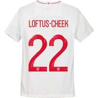 England Home Stadium Shirt 2018 - Kids with Loftus-Cheek 21 printing