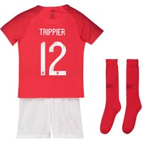 England Away Stadium Kit 2018 - Infants with Trippier 12 printing