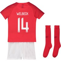 England Away Stadium Kit 2018 - Infants with Welbeck 14 printing