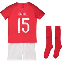 England Away Stadium Kit 2018 - Infants with Cahill 15 printing