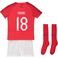England Away Stadium Kit 2018 - Infants with Young 18 printing