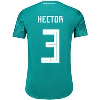 Germany Authentic Away Shirt 2018 with Hector 3 printing