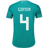 Germany Authentic Away Shirt 2018 with Ginter 4 printing