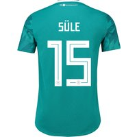 Germany Authentic Away Shirt 2018 with Sule 15 printing