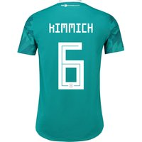 Germany Authentic Away Shirt 2018 with Kimmich 18 printing