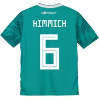 Germany Away Shirt 2018 - Kids with Kimmich 18 printing