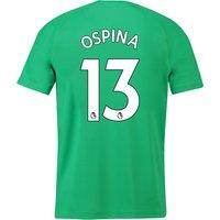 Arsenal Away Goalkeeper Shirt 2018-19 with Ospina 13 printing