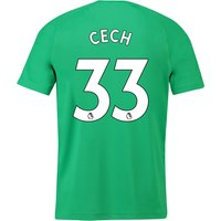 Arsenal Away Goalkeeper Shirt 2018-19 with Cech 33 printing