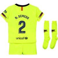 Barcelona Away Stadium Kit 2018-19 - Little Kids with N. Semedo 2 printing