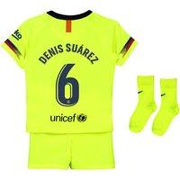 Barcelona Away Stadium Kit 2018-19 - Infants with Denis Suárez 6 printing