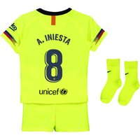 Barcelona Away Stadium Kit 2018-19 - Infants with A. Iniesta  8 printing
